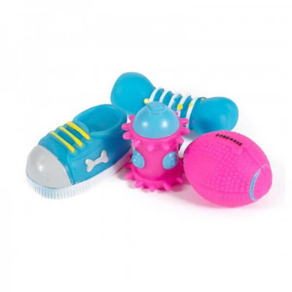 Ancol Small Bite Puppy Toy Set