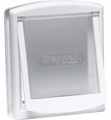 Staywell 715 White Cat Flap