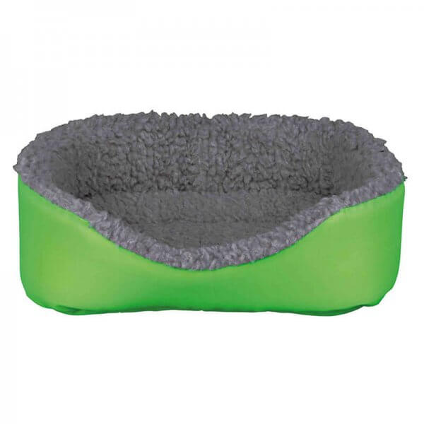 Trixie Green and Grey Fluffy Rabbit or Guinea Pig Bed