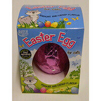Easter Egg for Cats - Yoghurt and Catnip