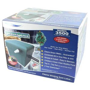 Green Geenie 3500 Pond Filter with 10w UV