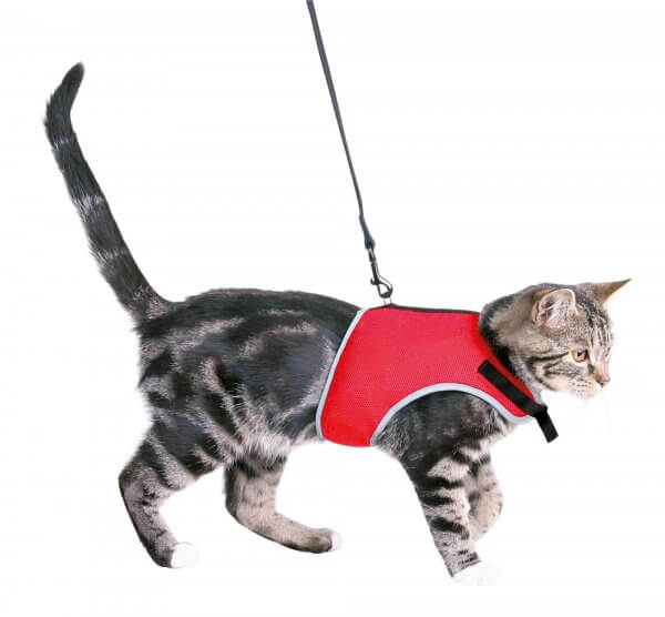 Trixie Soft Mesh Cat Harness with Lead